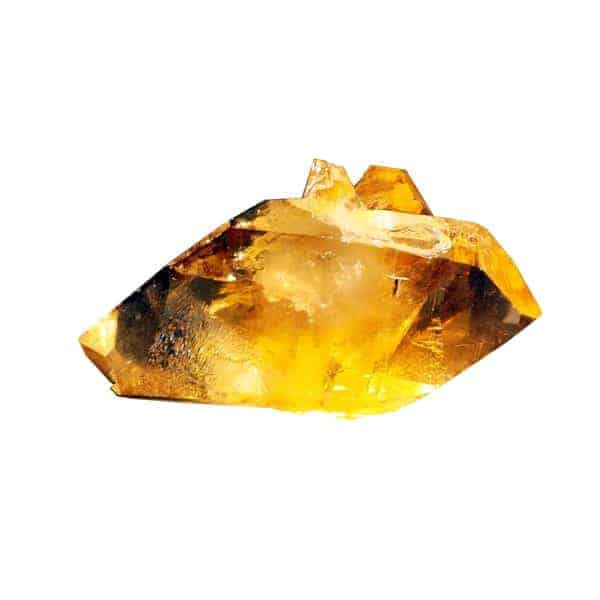 Citrine crystal gemstone