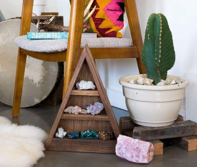 Healing Crystals in Home