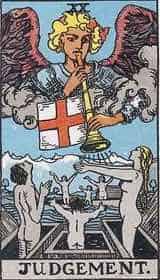The Judgment Tarot Card