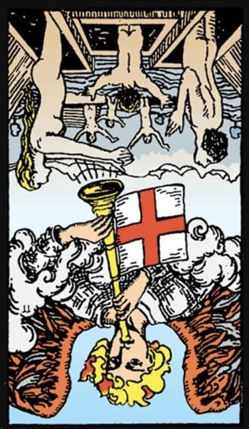 judgement tarot card reversed