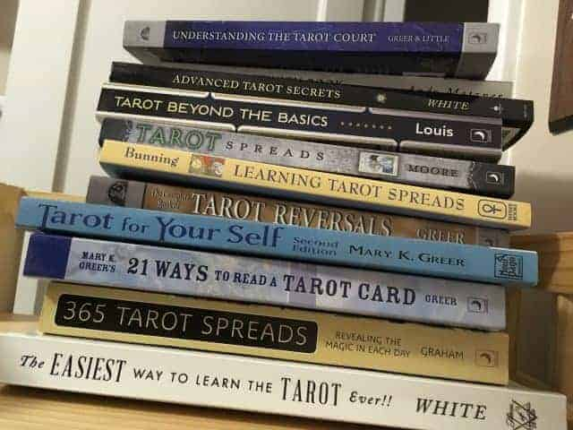 my tarot books for beginners advanced