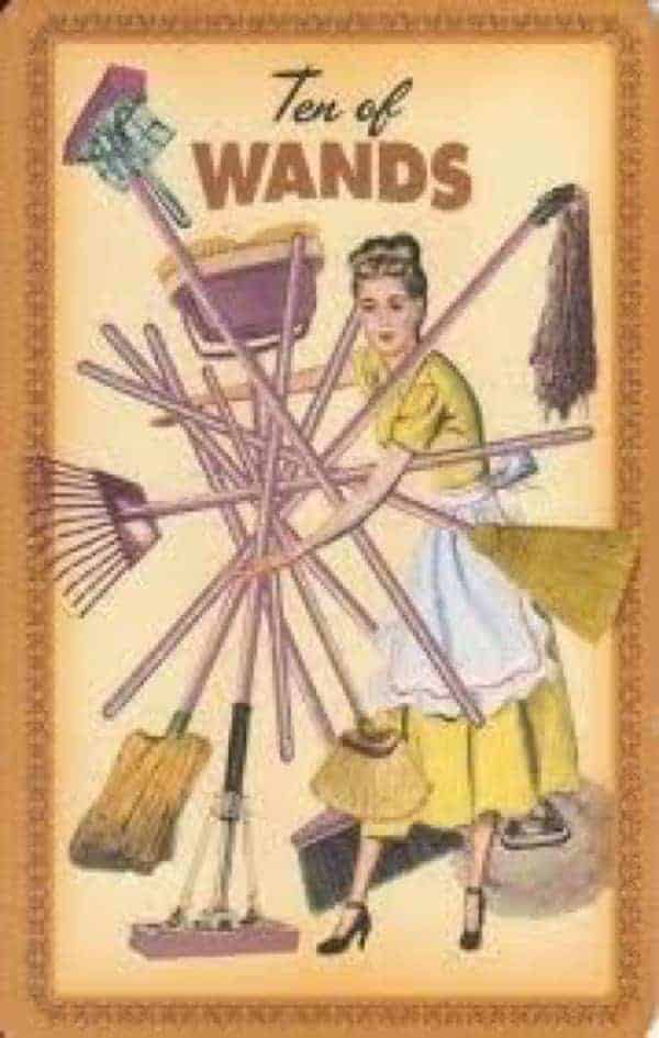 ten of Wands meaning