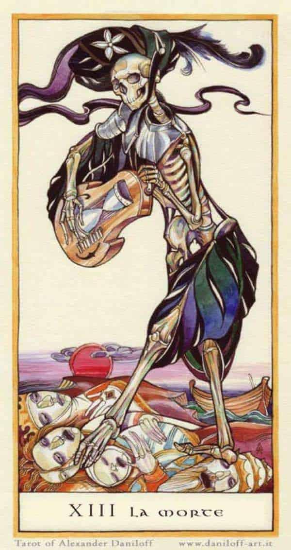 death tarot love meaning