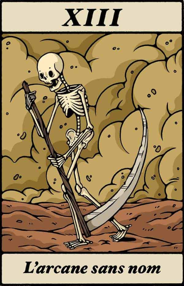 death tarot love