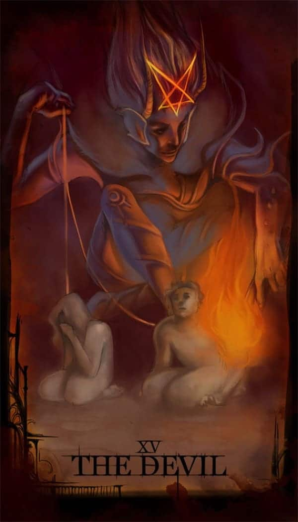 devil tarot love meaning