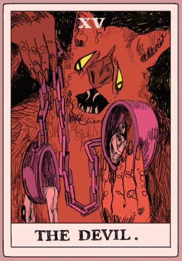 devil tarot reversed