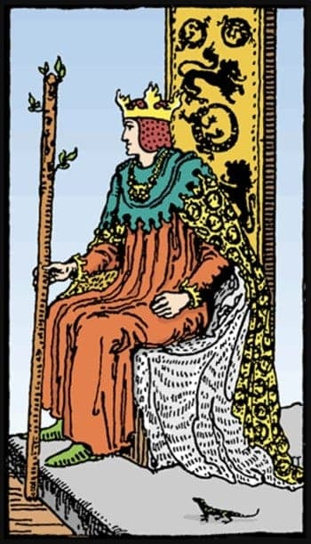 king of wands meaning