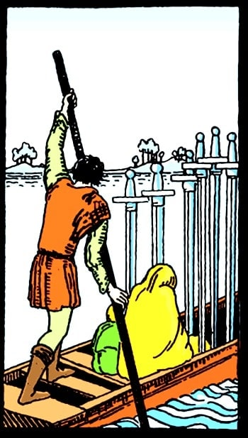 six of swords meaning