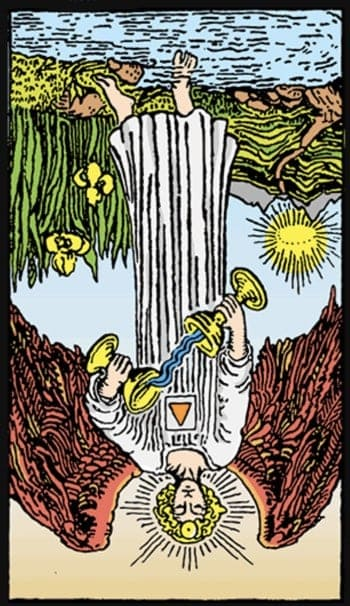 temperance tarot reversed