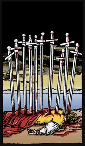 ten of swords meaning