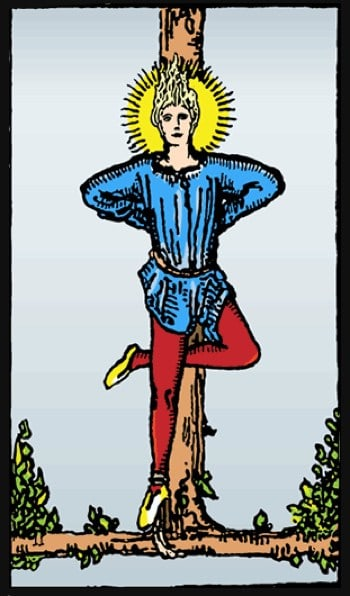 the hanged man reversed meaning
