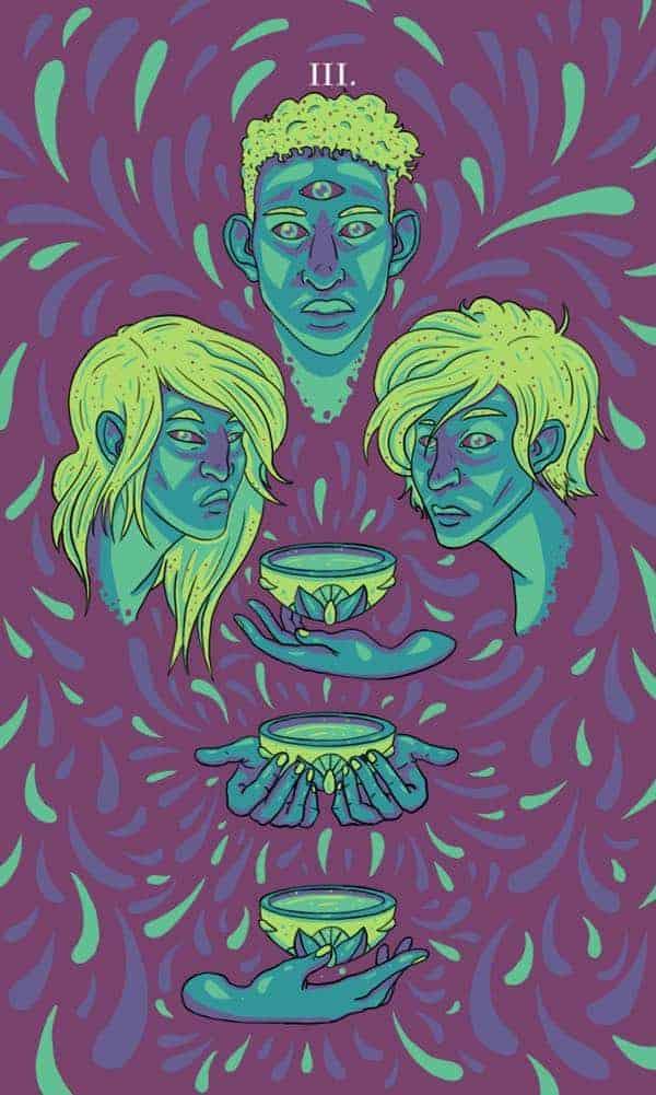three of cups feelings