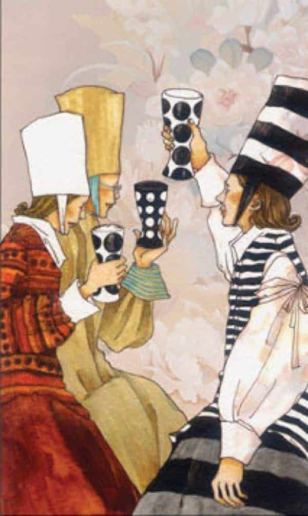 three of cups yes or no