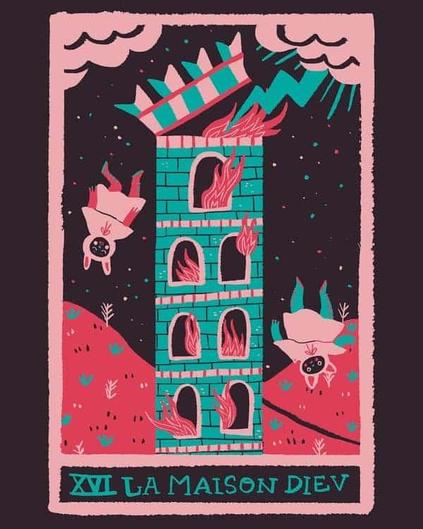 the tower tarot love