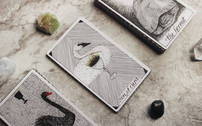 traditional modern tarot card decks