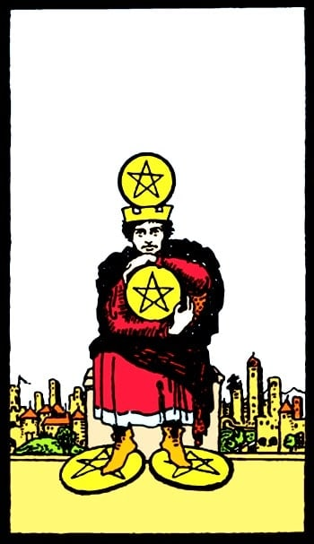 four of pentacles meaning