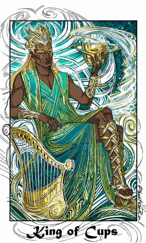 king of cups as feelings