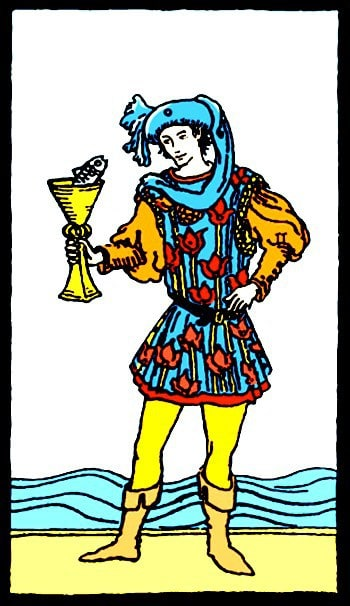 page of cups tarot