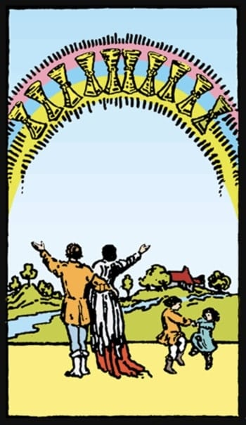 ten of cups meaning