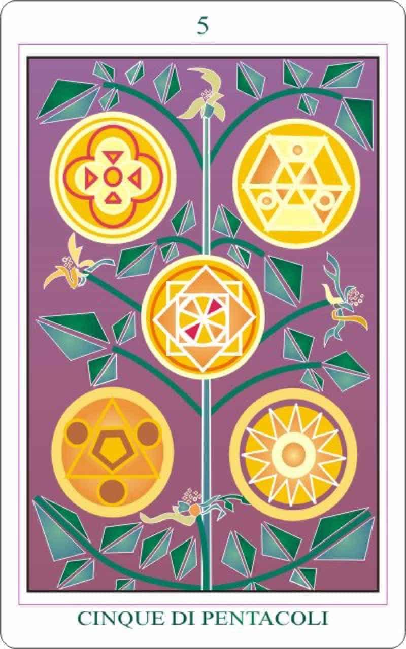 five of pentacles tarot