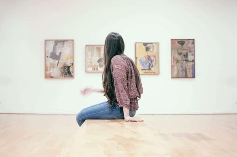 clairvoyant girl art