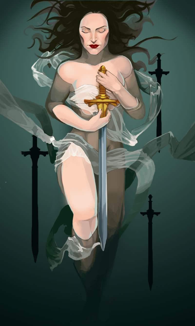 four of swords love