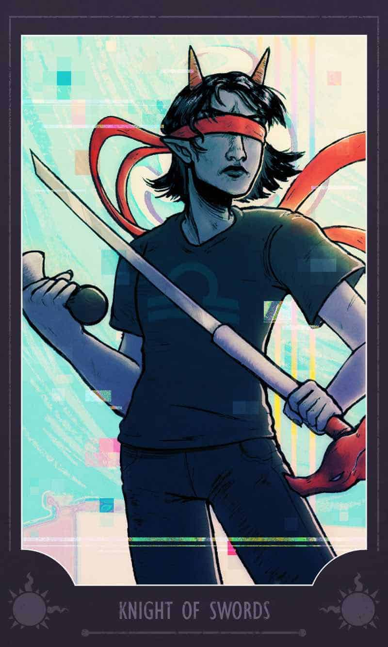 knight of swords as feelings