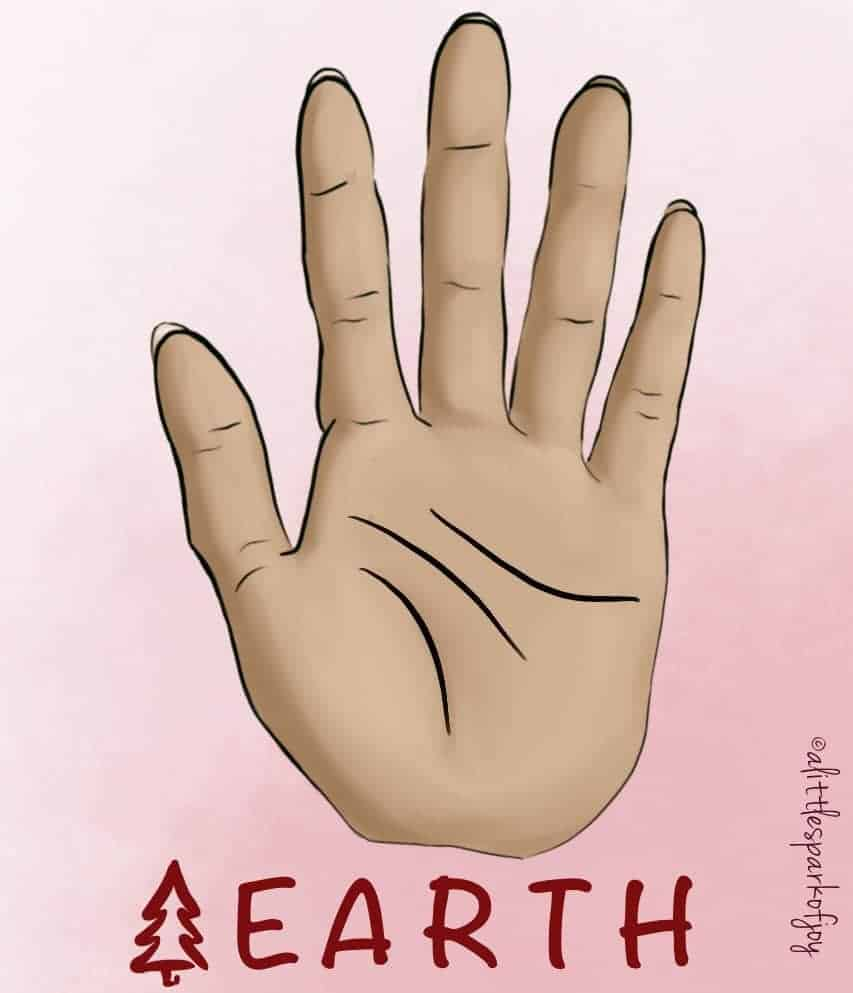 earth hand palmistry
