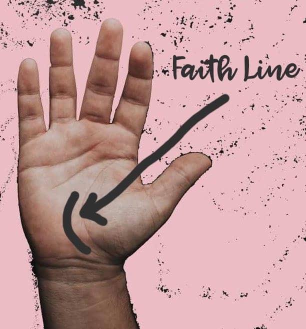 palm reading faith line