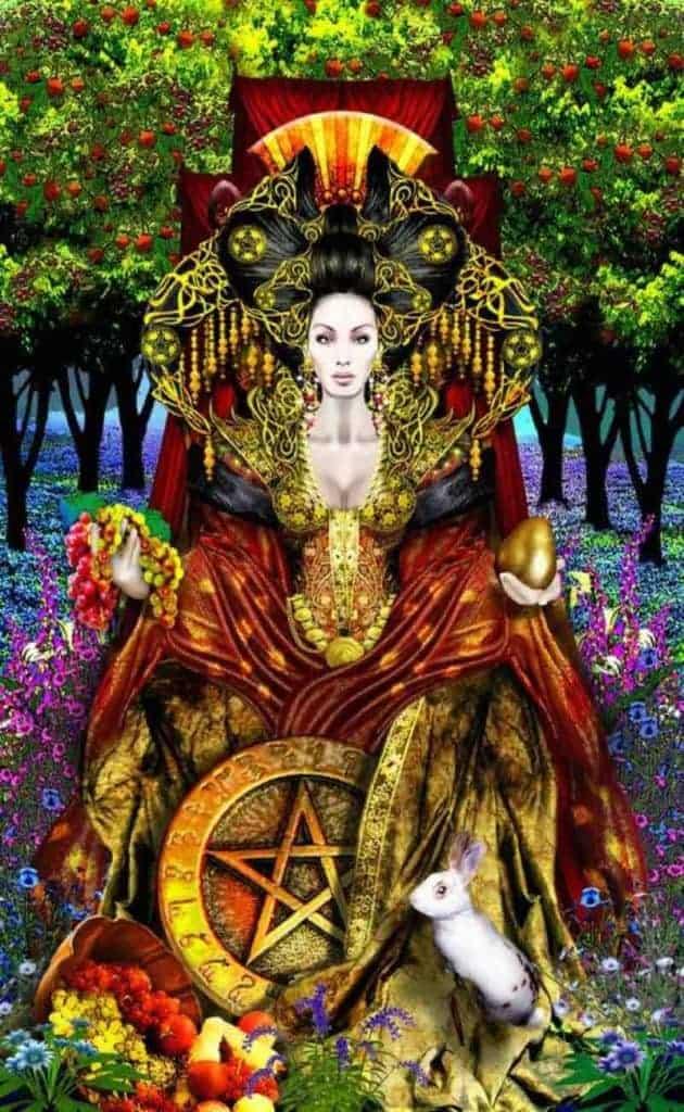 queen of pentacles future