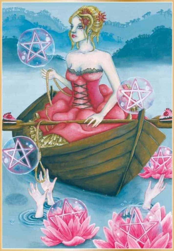 six of pentacles tarot yes or no