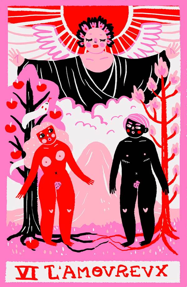the lovers tarot love