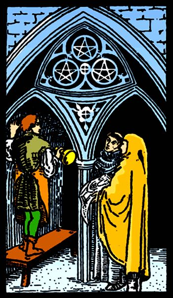 three of pentacles meaning