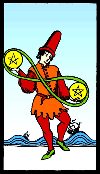 two of pentacles tarot meaning