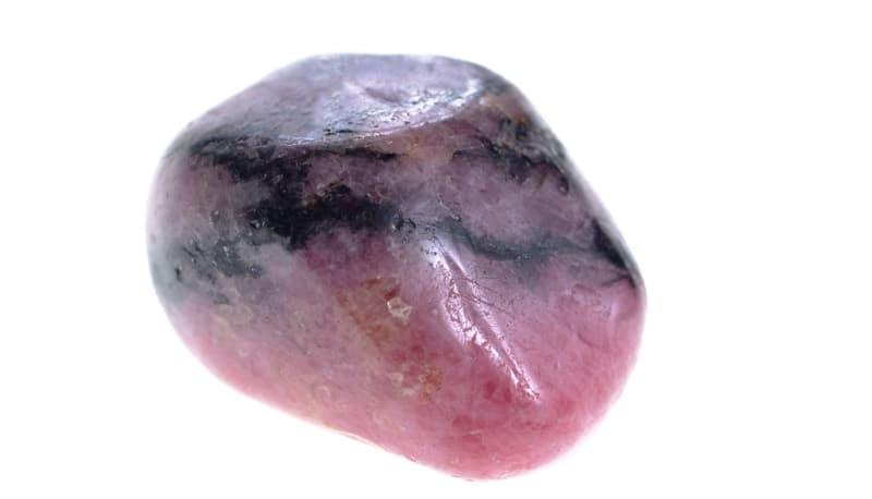 heart chakra stones rhodonite