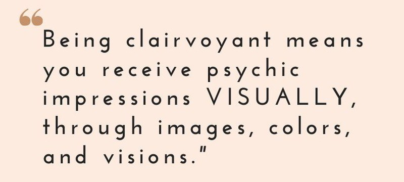 clairvoyance definitions clearseeing