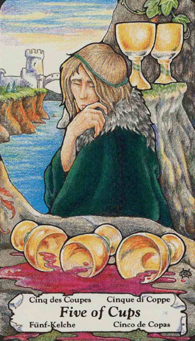 five of cups meaning