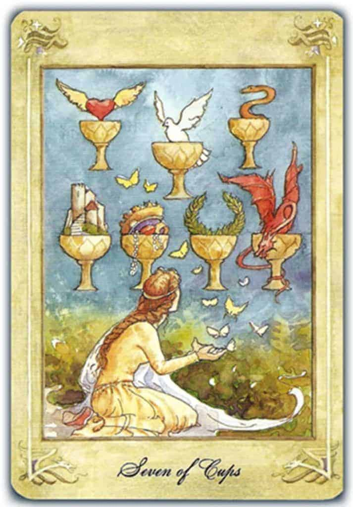 seven of cups love