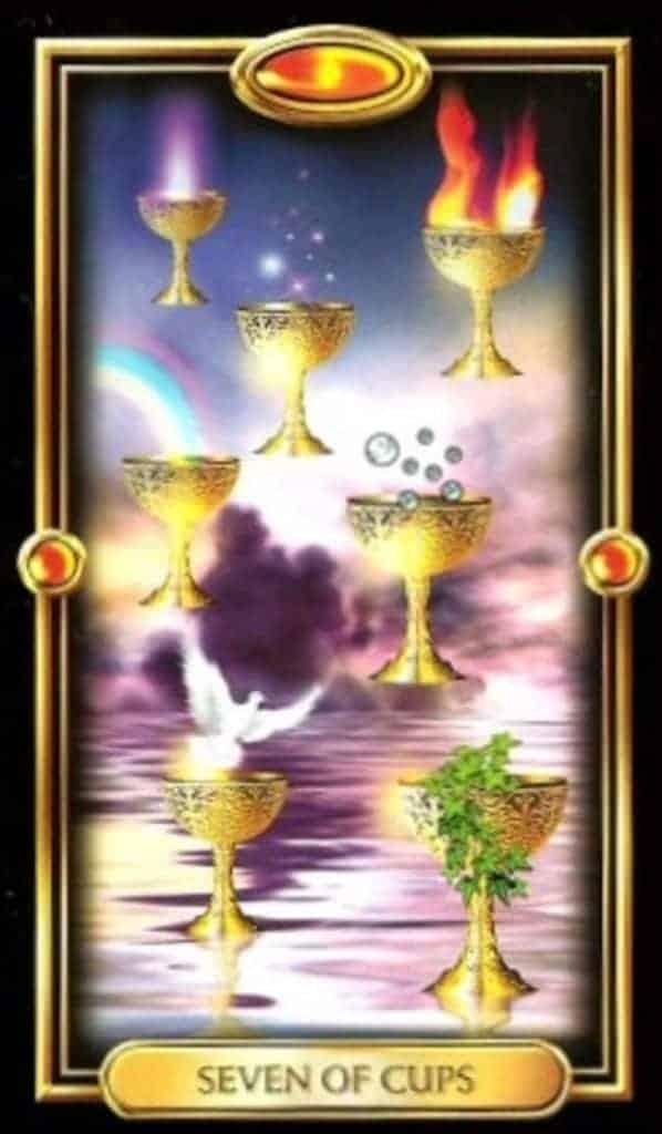 seven of cups tarot