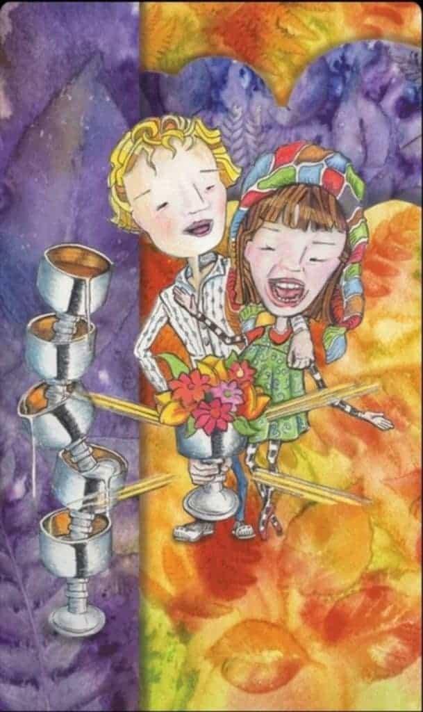 six of cups tarot love