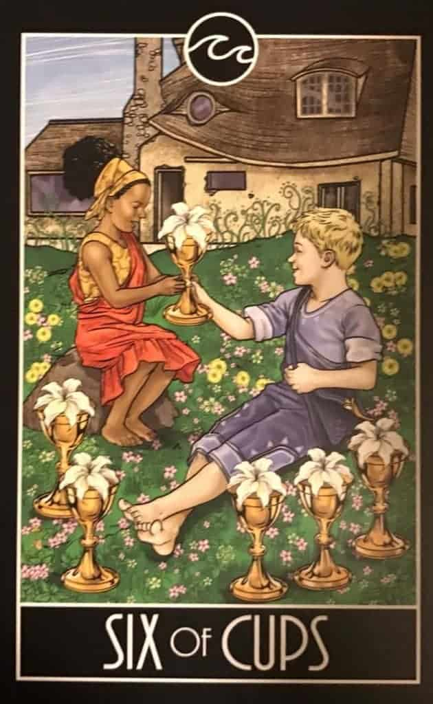 six of cups tarot meaning