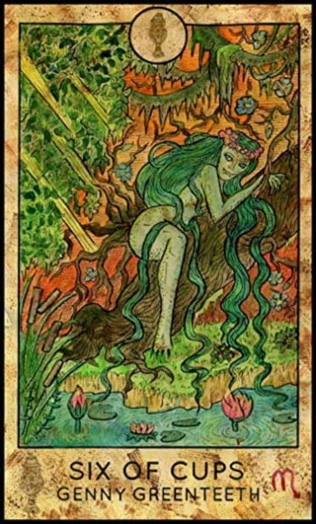 six of cups wild unknown