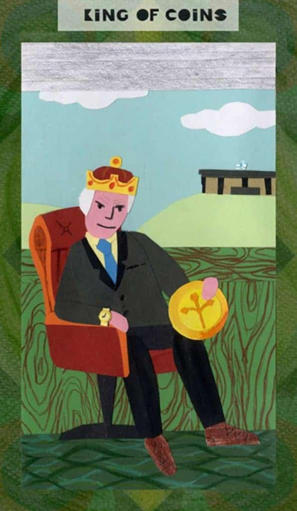 king of pentacles love