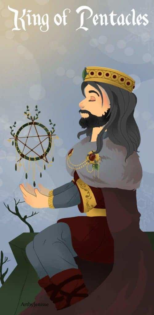 king of pentacles love meaning