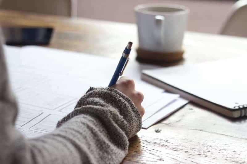 writing chakra affirmations