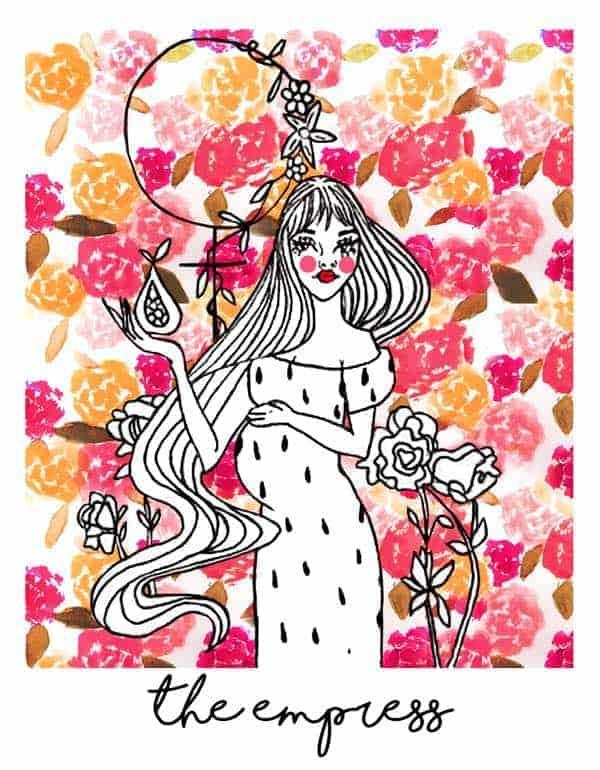 love tarot empress