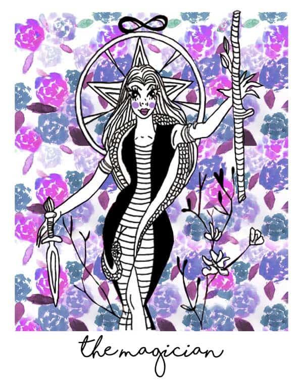 magician tarot card numerology