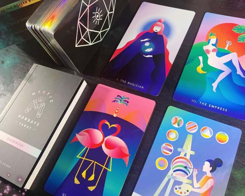 mystic mondays tarot deck and box