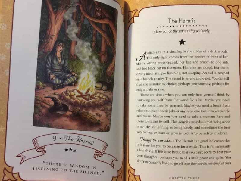 the everyday witch tarot book hermit