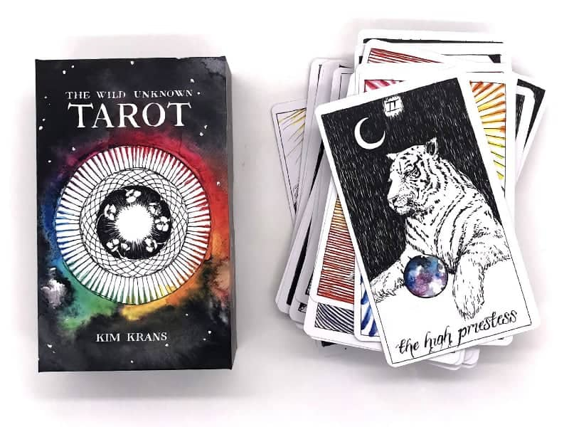 the wild unknown tarot deck book box